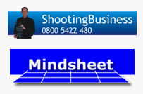 Mindsheet and Shooting Business Logos